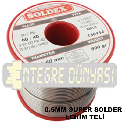 Super solder lehim teli 500gr lehim teli pasta for 0 25 divan saz teli